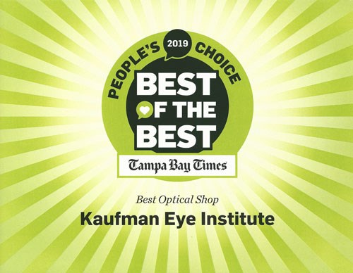 Best of the Best Tampa Bay Times Best Optical Shop